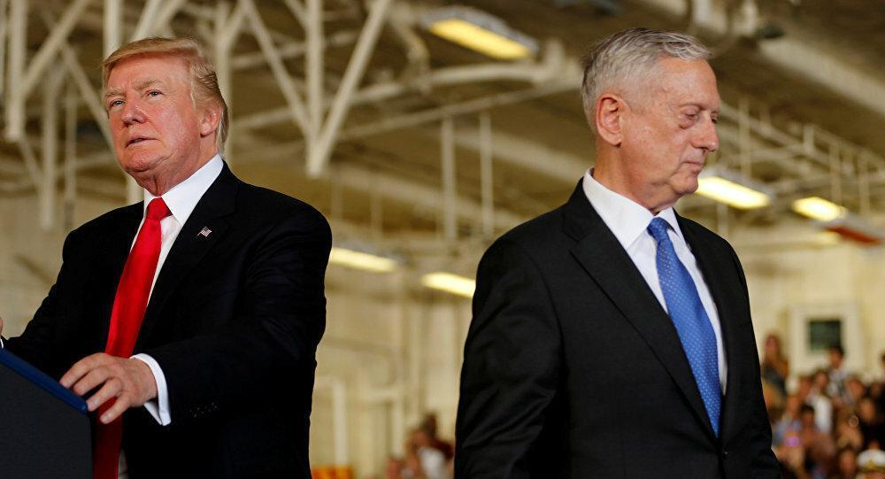 تاثیر خروج متیس از کابینه ترامپ