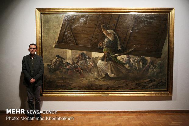 تابلوهای الحق مع علی در طول یک سال خلق شدند، آثاری درباره ائمه