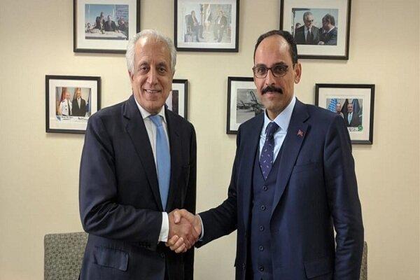 دیدار نماینده ویژه آمریکا در امور افغانستان با مقامات ترکیه