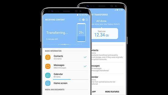 مهاجرت آسان به گوشی های سامسونگ با Smart Switch
