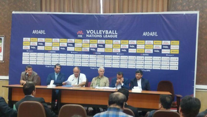 خبرنگاران حمایت تیم ملی والیبال موجب سربلندی ایران است