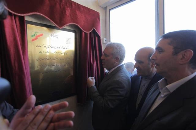 افتتاح یک مجتمع گردشگری در روستای نظم آباد اراک با حضور دکتر مونسان