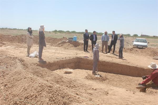 شروع عملیات کاوش باستان شناسی در محوطه تاریخی کله کوب در خراسان جنوبی