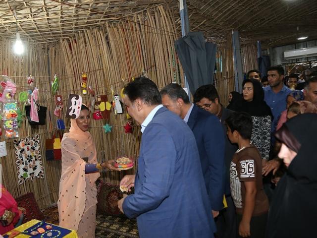 افتتاح بازارچه دائمی صنایع دستی در معبد هندوهای بندرعباس