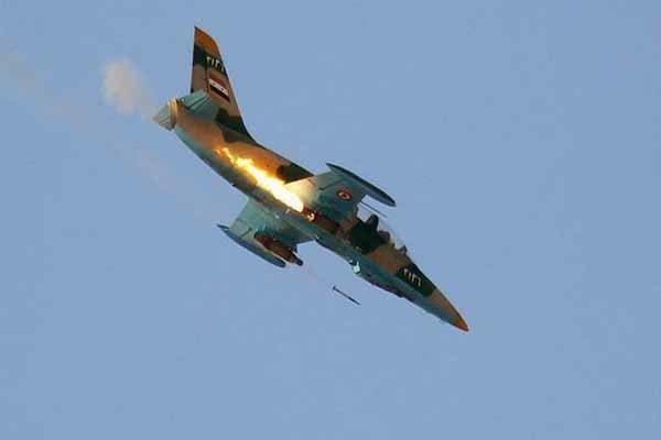 بمباران سنگین خطوط امدادرسانی تروریستها در جنوب و جنوب شرق ادلب