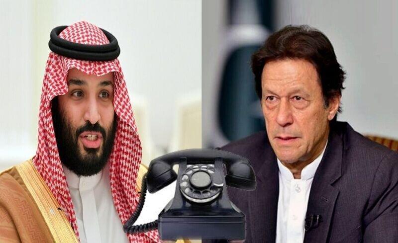 عمران خان و بن سلمان درباره حمله به آرامکو گفت وگو کردند