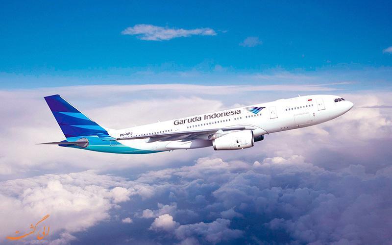 معرفی شرکت هواپیمایی گارودا ایندونزیا