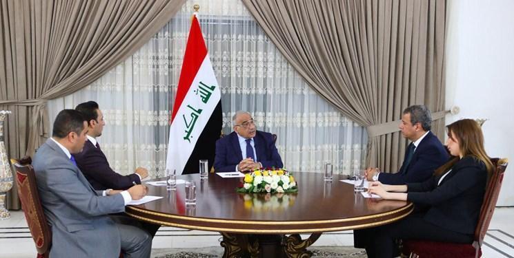 عبدالمهدی: اگر عراق عرصه جنگ گردد، منطقه شعله ور خواهد شد