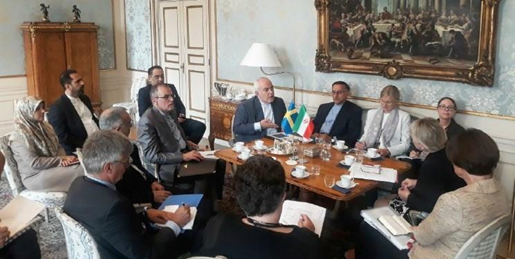 رایزنی وزرای خارجه ایران و سوئد درباره ضرورت تسریع در اجرای اینستکس و امنیت خلیج فارس
