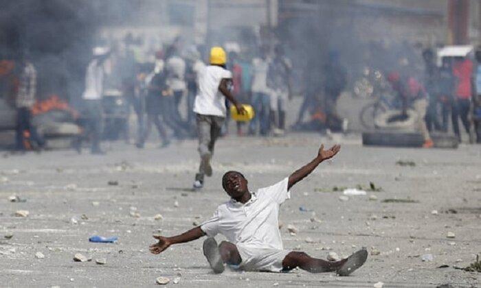 تظاهرات ضددولتی در هائیتی ادامه دارد