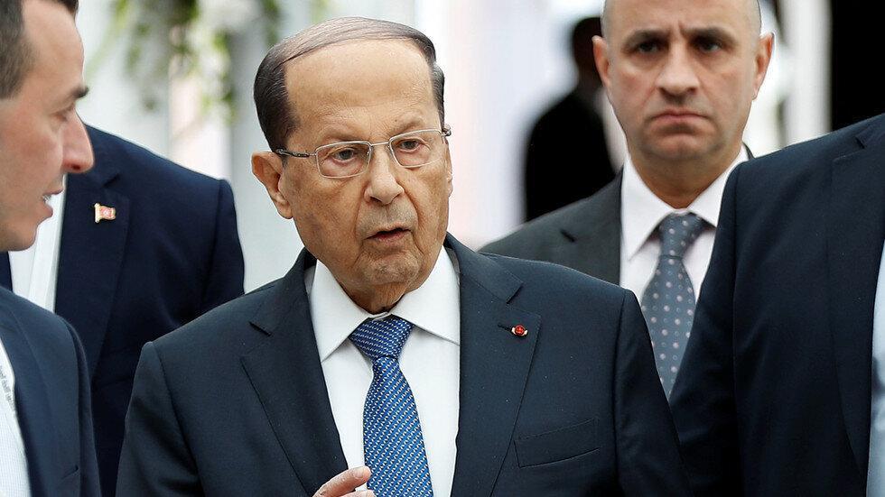 عون برای مذاکره با معترضان اعلام آمادگی کرد
