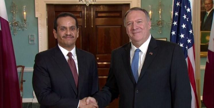 دیدار وزیر خارجه قطر با همتای آمریکایی در واشنگتن