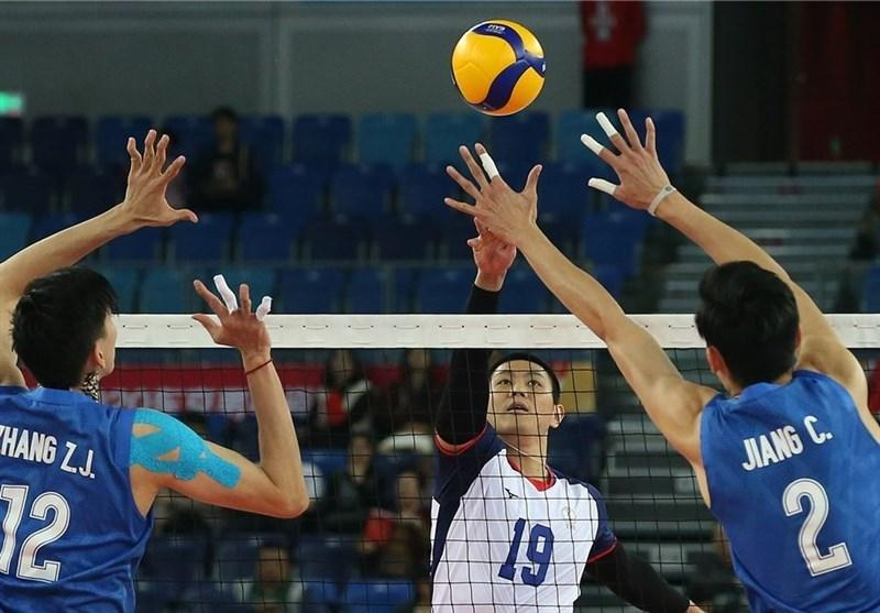 والیبال انتخابی المپیک، چین به سختی تایپه را شکست داد، ایران صدرنشین باقی ماند