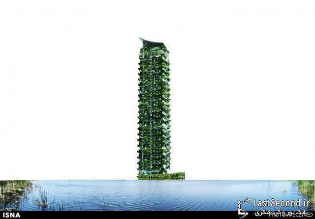 طراحی بزرگترین باغ عمودی مسکونی دنیا