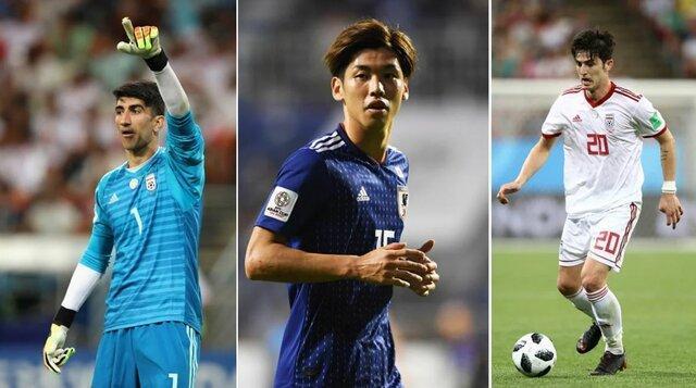 5 بازیکن معین کننده در ملاقات ایران و ژاپن از نظر فاکس اسپورت