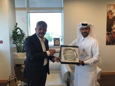 فدراسیون پزشکی ورزشی با مرکز درمانی اسپیتار قطر تفاهم نامه همکاری امضا می نمایند