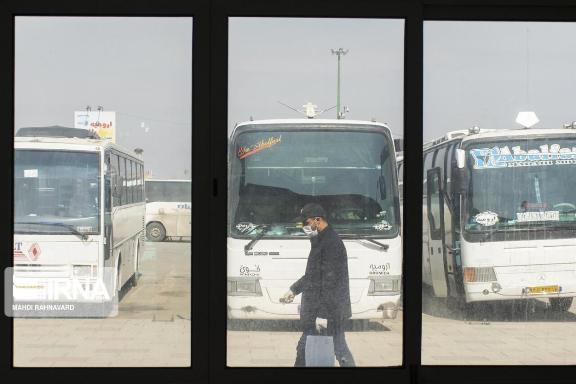 خبرنگاران کرونا، مسافرت با ناوگان عمومی خراسان شمالی را 60 درصد کاهش داد