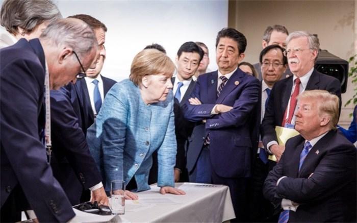سران جی 7 نتوانستند ترامپ را راضی نمایند