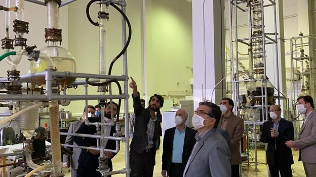 پایلوت فراوری الکل در دانشکده مهندسی شیمی نفت و گاز شیراز راه اندازی شد