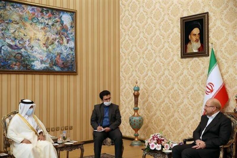 هدیه ویژه سفیر قطر به قالیباف ، جزئیات ملاقات رئیس مجلس با سفیر قطر