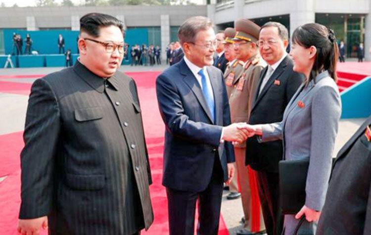 بازی پلیس خوب - پلیس بد خواهر و برادر ، کره شمالی فعلا به کره جنوبی حمله نمی کند