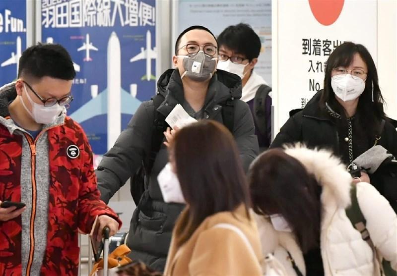 110 مورد مبتلا به کرونا در ژاپن در یک روز
