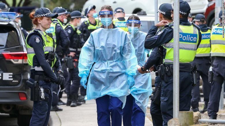 خبرنگاران قرنطینه بیش از 6 میلیون نفر در استرالیا