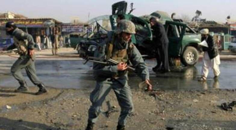 مرگ دو فرمانده پلیس افغانستان در اثر انفجار بمب