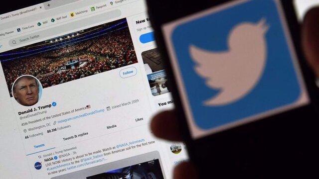 اعتراض ترامپ به بخش ترندینگ توئیتر