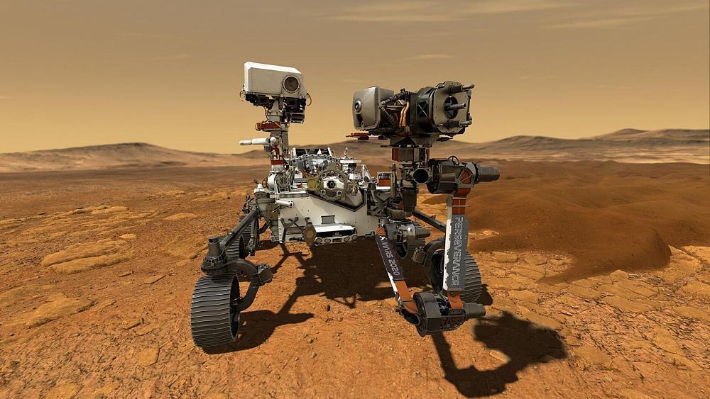خودروی جدید ناسا، یک ربات هوشمند
