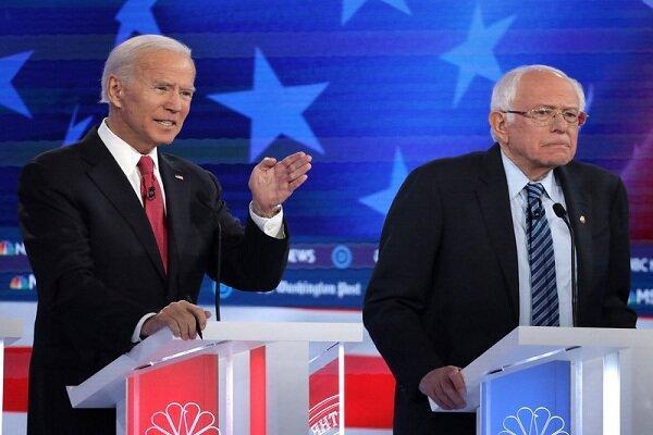 حمایت قاطع سندرز از بایدن و انتقاد صریح از اقدامات ترامپ