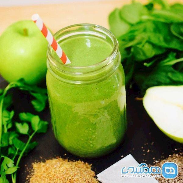 این نوشیدنی سبز، چربی هایتان را نابود می کند