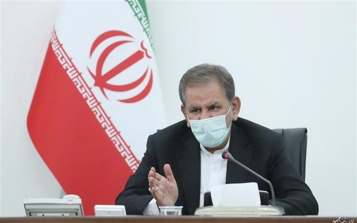 جهانگیری: توسعه 20سال آینده ایران باید با نفت و گاز صورت گیرد