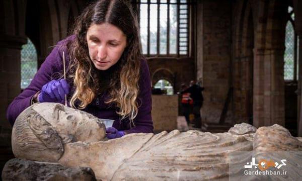 کشف مجسمه قرون وسطایی پس از قرن ها