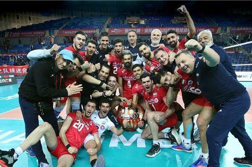 رنکینگ دنیای والیبال منتشر شد، ایران همچنان هشتم دنیا