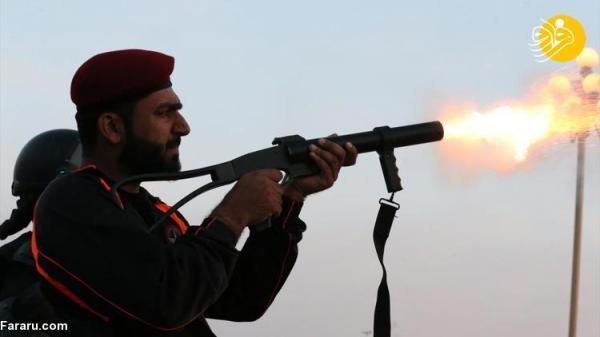 (تصاویر) درگیری کارمندان دولت با نیروهای پلیس در پاکستان
