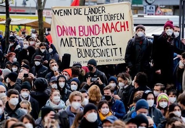 اعتراض هزاران نفر در برلین به لغو قانون سقف اجاره خانه
