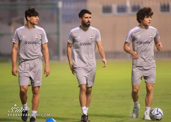 ستاره پرسپولیسی عراق آماده بازی با ایران