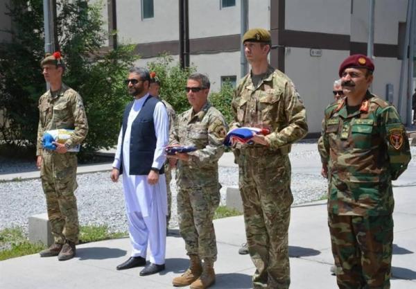 ادامه واگذاری پایگاه های نظامی؛ کمپ کابل جدید تحویل نظامیان افغانستان شد