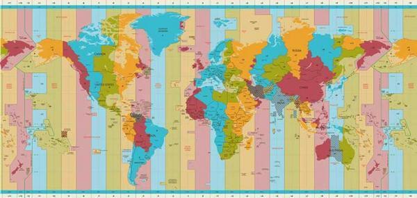 اختلاف ساعت ایران با کشورهای مختلف چقدر است؟