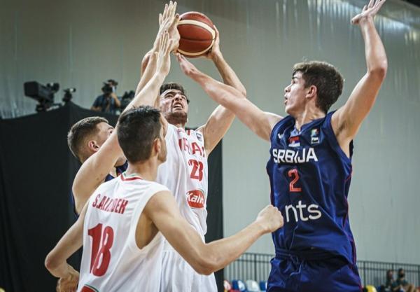 بسکتبال قهرمانی جوانان جهان، ایران مغلوب میزبان شد