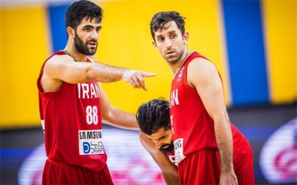 دیدار محبت آمیز بسکتبال؛ ایران به میزبان المپیک شوک وارد کرد