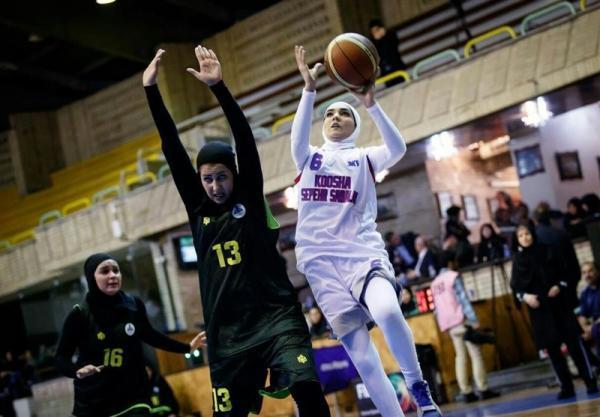 پیروزی مدعیان در لیگ برتر بسکتبال بانوان، رجحان سه رقمی گروه بهمن تهران